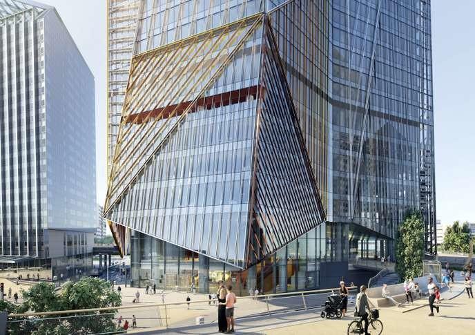 A la Défense, le gratte-ciel de bureaux se réinvente - © Cro&Co