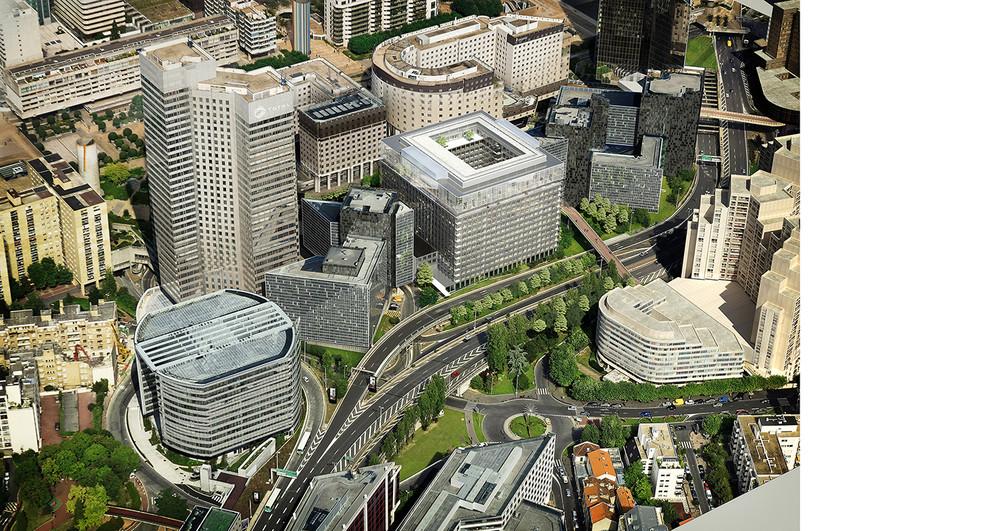 Eiffage Construction va rénover le Carré Michelet à La Défense - © Cro&Co