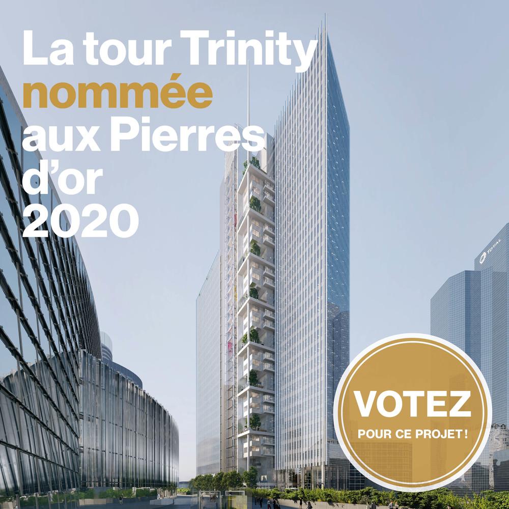La Tour Trinity nommée aux Pierres d'or - © Cro&Co
