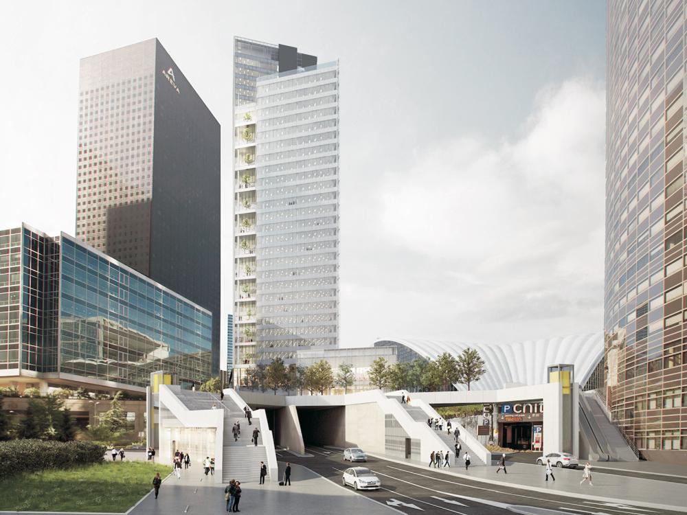 Paris La Défense : huit nouvelles tours - © Cro&Co