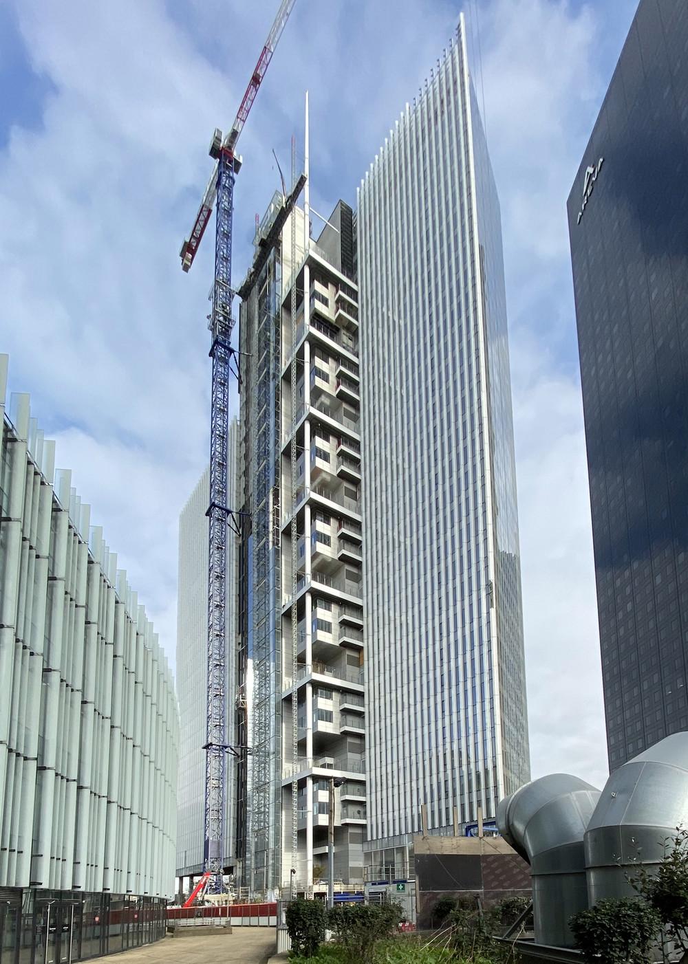 Paris La Défense : Trinity offre une nouvelle liaison entre le parvis et Courbevoie - © Cro&Co
