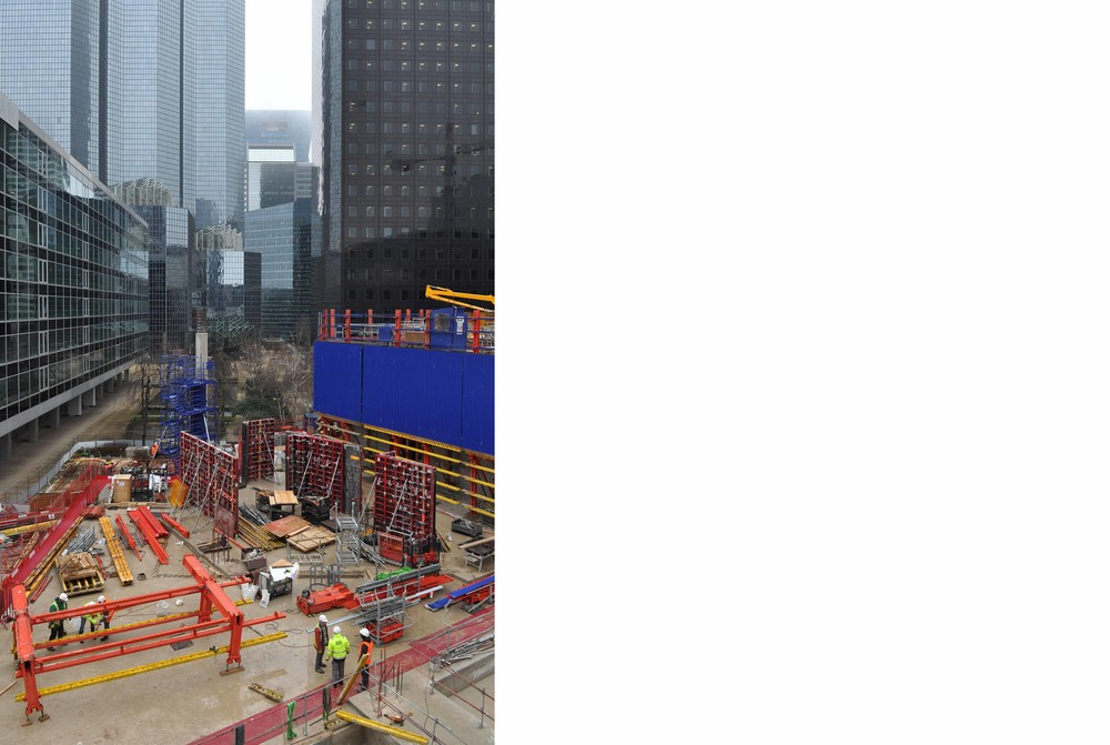Tour Trinity : coup d'envoi du chantier début 2016 - © Cro&Co